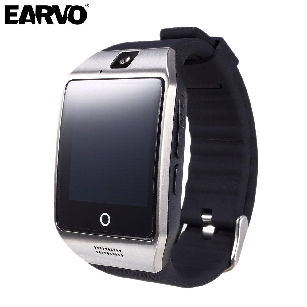 Galleria fotografica D'origine Apro 8 GB Mémoire Connecté Bluetooth Horloge Santé Bracelet Smart Watch Téléphone PK DZ09 F69 Q18 Smartwatch pour Android IOS