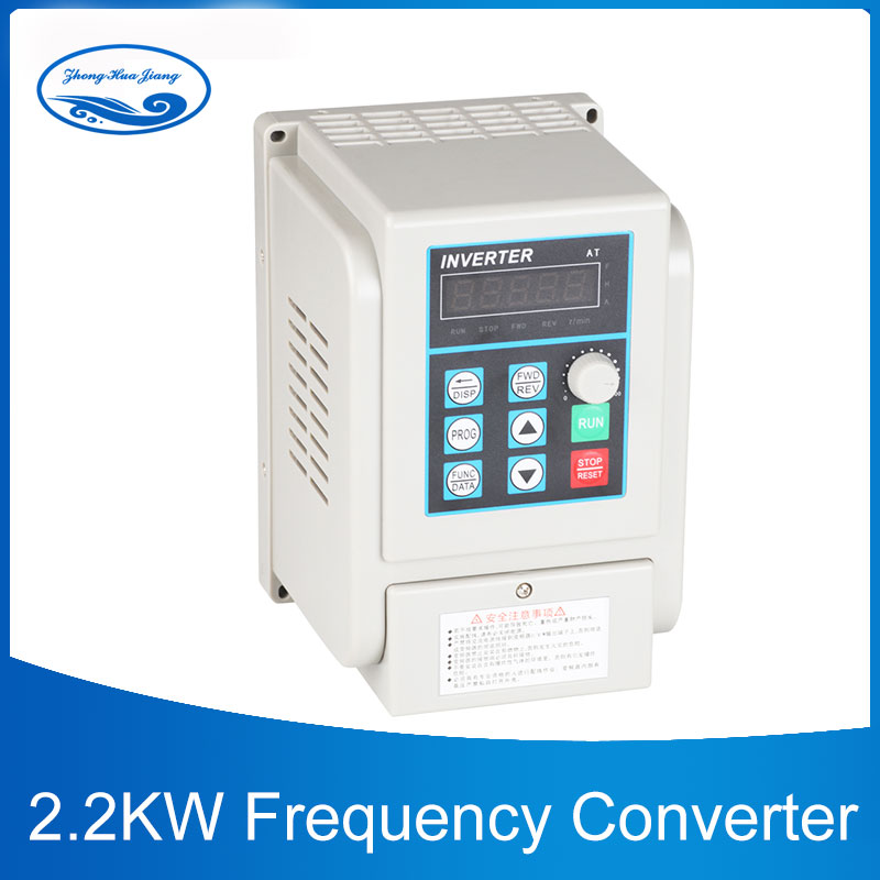 цена на AC 220V Frequency Converter 2.2KW Variable Frequency Drive Converter VFD Speed Controller Converter