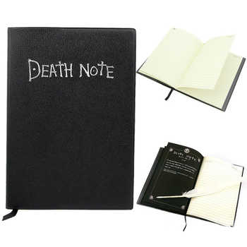 Nice Fashion Anime Theme Death Note Cosplay Notebook School Large Writing Journal 20.5cm*14.5cm - DISCOUNT ITEM  16% OFF All Category