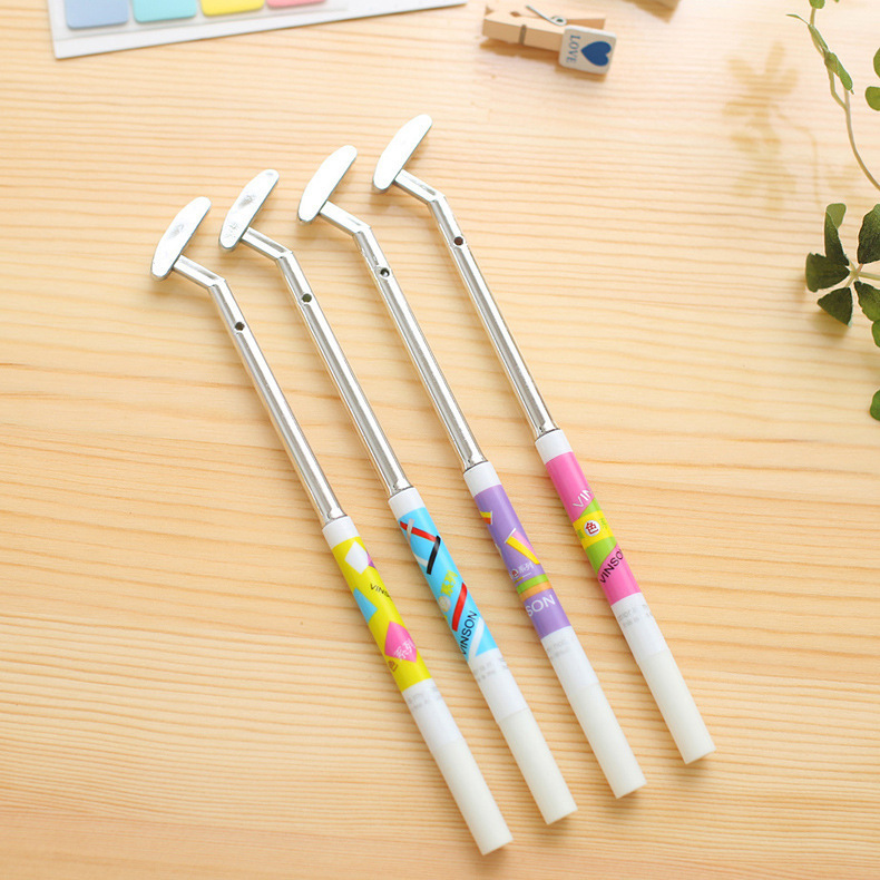 1 PCS New Cute Golf Styling Creative Gel Pens Signing Pen For Kids Novelty Gift Stationery School Supplies