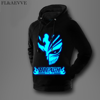 FL AEVVEFL AEVVE Japan Anime Hoodie Death Note Sweatshirt Men Death Note Anime Hoodies