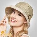 2015 nuevo kentucky derby sombrero fedora elegance arco malla de gasa solid sombreros de fieltro bucket cap B-2304