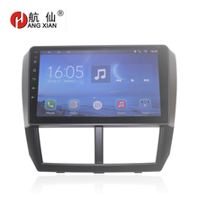 HANG XIAN Android 7.0 Car DVD Multimedia Player GPS for Subaru Forester Impreza 2008 2009 2010-2012 audio car radio stereo navi