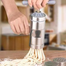 Лапша машина из нержавеющей стали домашняя маленькая ручная лапша делая ручной пресс для приготовления лапши 016