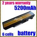 Jigu batería del ordenador portátil para lenovo ideapad y450 y450a y450g y550 y550a y550p 55y2054 l08l6d13 l08o6d13 l08s6d13