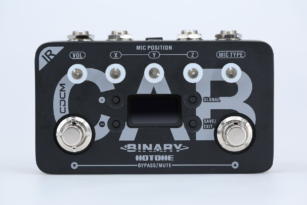 Hotone Binary IR Cab Speaker Cabinet Simulator Pedal