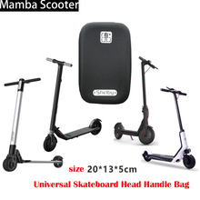 Xiaomi Mijia M365 Scooter Head Bag Front Charger Bag Electric Skateboard Tool Shell Bag Carrier for Xiaomi M365 Electric Scooter