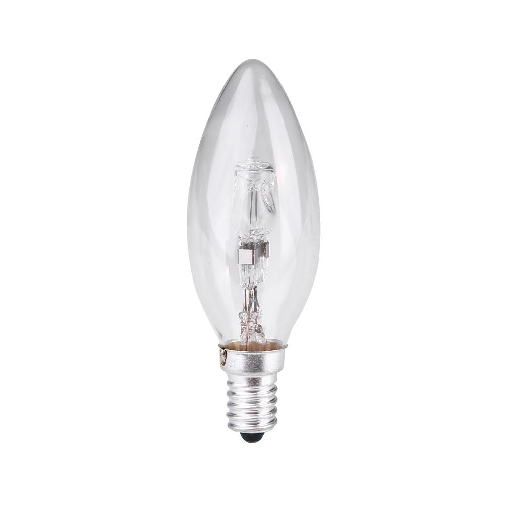 E14 галогенная лампа в форме свечи энергосберегающее освещение домашнее прочное рождественское праздничное освещение домашнее фестивальное освещение