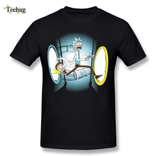 Hot Sale Tee Round Neck Tees Custom Man rick and morty T-Shirts Great Design Shirts Nice Short-sleeved