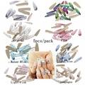 5 unids 3x10mm Glitter Strass Cristal Piedras Para Uñas Arte 3D Mochila Oro Flatback de DIY Diseño Decoraciones Gota de Agua a largo