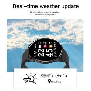Image 5 - Akıllı İzle erkekler kadınlar dokunmatik ekran kan basıncı nabız Smartwatch kadınlar su geçirmez izle spor Android IOS için Xiaomi 2019