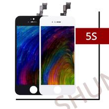 цена на 10PCS/LOT 100% NO Dead Pixel Quality AAA For iPhone 5S LCD Display&Touch Screen Digitizer Assembly Replacement Free Shipping