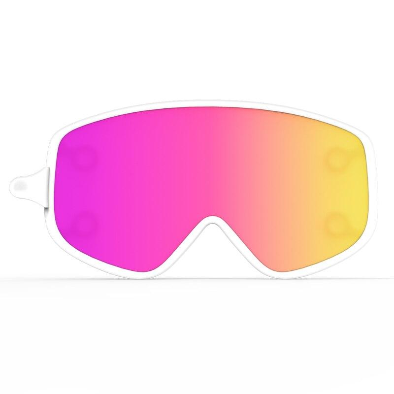 Lente De Esqui COPOZZ Magnética Dual-use Lente Exterior para 2440 Anti-nevoeiro  óculos de Esqui Snowboard Óculos De Proteção Noite UV400 Homens mulheres ... 04ef9e6489