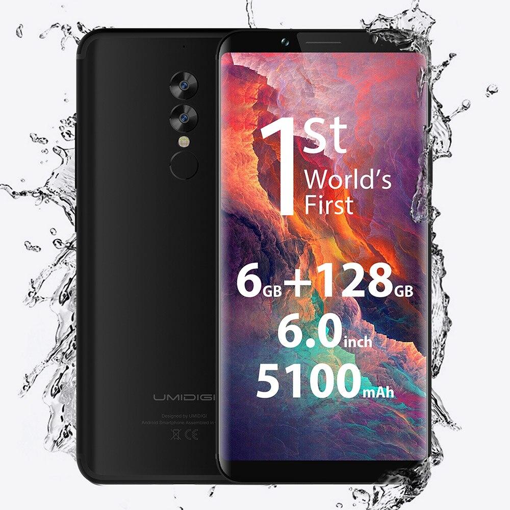 UMIDIGI S2 Pro 4G Smartphone Android 7.0 6 GB di RAM 128 GB ROM 6.0 pollici Helio P25 Octa Core 2.6 GHz 13.0MP 5.0MP Posteriore Dual Camera GPS