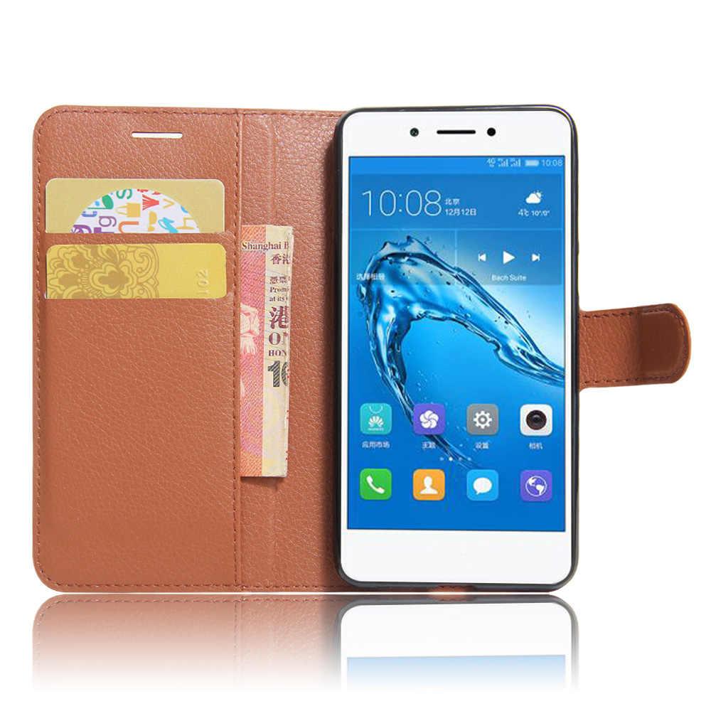 "YINGHUI لهواوي التمتع 6 S 5.0 ""حالة الوجه الفاخرة بو أغطية جلد الهاتف حافظة لهاتف Huawei التمتع 6 s غطاء الهاتف أكياس"