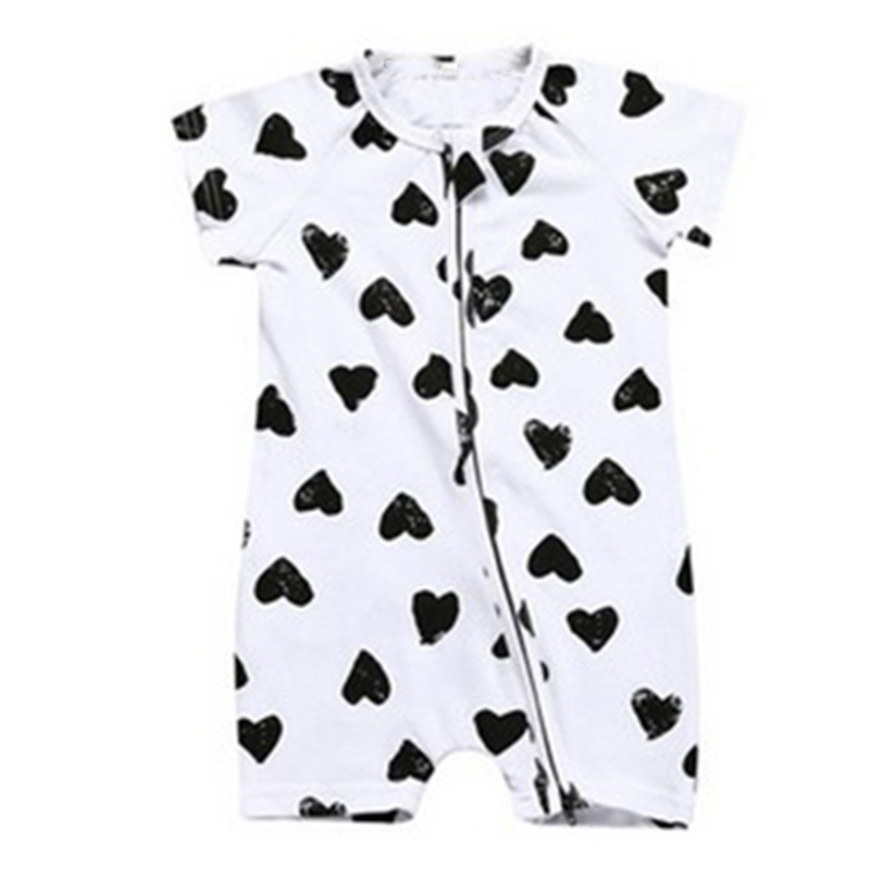 Childrens Summer Baby Infant Short Sleeve Jumpsuit Cotton Romper Birthday Gift