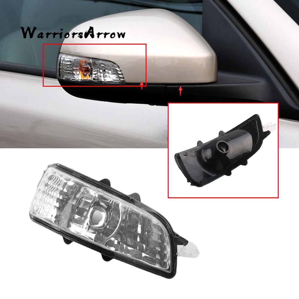 Right Side Wing Mirror Indicator Turn Signal Light Lamp Lens NO Bulb For Volvo S40 S60 S80 C30 ...