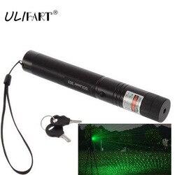 Militare Penna Laser Verde Potente Puntero lazer Puntatore 303 Messa A Fuoco Regolabile Che Brucia di Caccia Torcia Elettrica Della Luce Laser Dropshipping