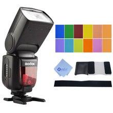 Godox TT600 2.4 г Беспроводной Камера Вспышка Speedlite со встроенным триггер система для Canon/Nikon/Pentax/Olympus Fujifilm Panasonic