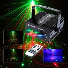LLEVÓ la Etapa de Iluminación Láser 24 o 96 Patrones RG Mini Rojo Verde Efecto de Luz láser Proyector 3 W Azul Espectáculo De Luces Del Partido de Disco de DJ