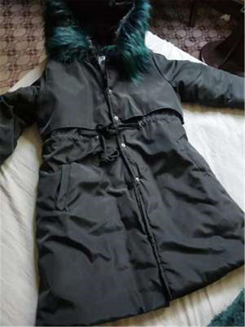 Parkas Femme De Capuchon Le Vestes Bf Plus Coupe Lâche Femmes Hiver X199 Harajuku Coton Noir Black Manteau Automne Collège 2018 À vent Coréen xSWqRwYfc4