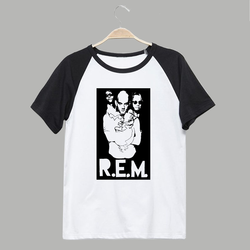 R.E.M. out of time rock t shirt street wear