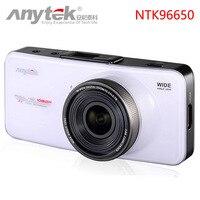Free DHL Anytek AT66A Car DVR Novatek 96650 Full HD 1080P 170Degree 6G Lens Supper Night Vision Dash Cam Video Recorder