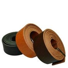 純粋な革ベルトブレスレットレザースポットストリップ4ミリメートル厚さ140センチメートル長