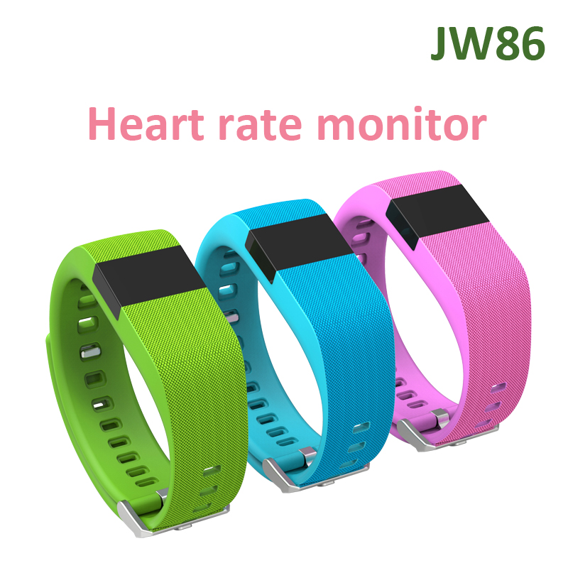 Smart Life JW86 Smart Fitness Band Charge HR Activity Wristband Wireless Heart Rate Monitor OLED