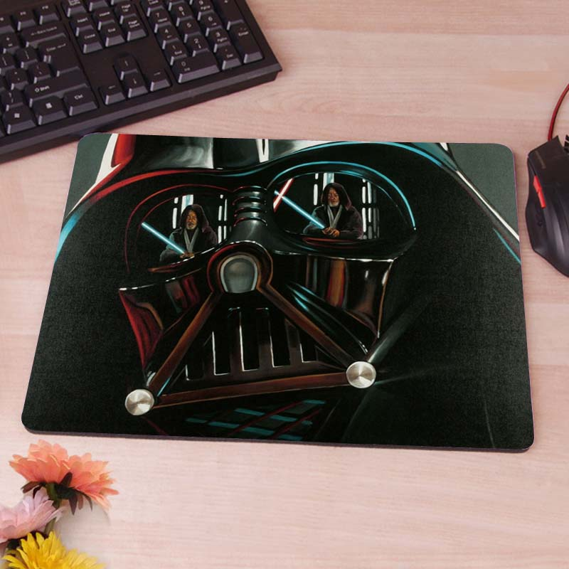 Darth, Vader, Mask, Star Wars  Mouse Pad Gift Mat Non-Skid Rubber Pad
