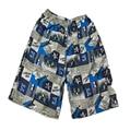 2016 пляжные люди свободного покроя дышащий печать мода эластичный большой размер платы шорты лето мужчины пляж одежда CJZNDK0002