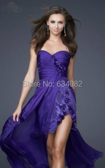 party prom gown robe de soiree sexy sweetheart vestido de festa 2018 free Shipping new custom lace flowers   bridesmaid     dresses