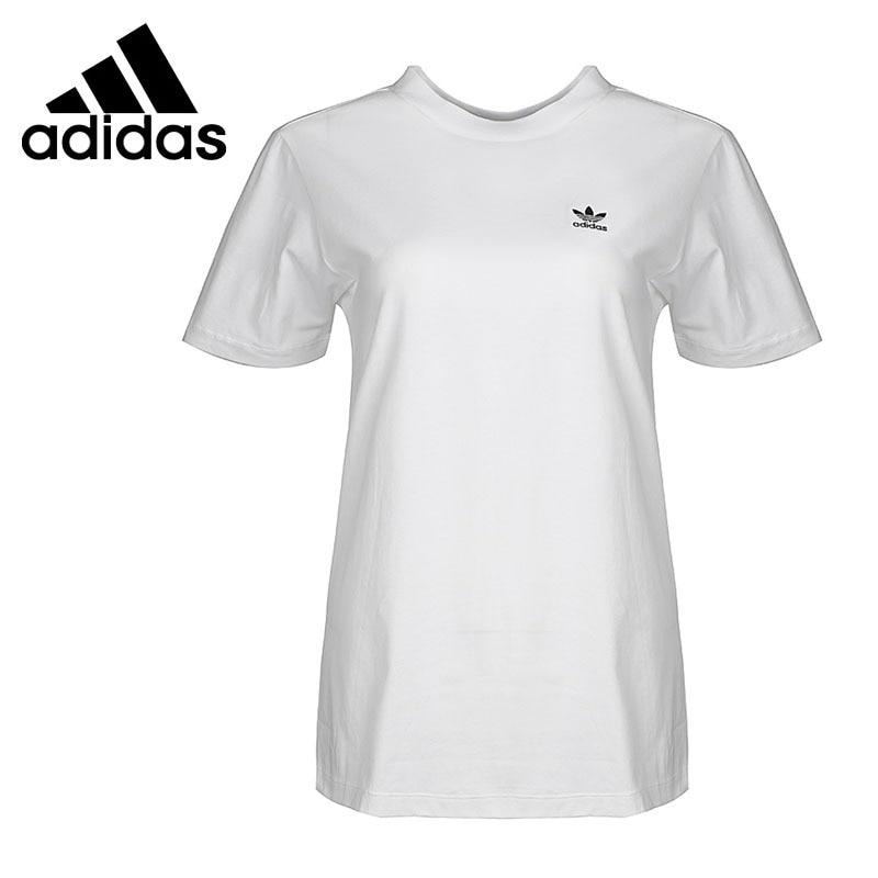 Original New Arrival 2018 Adidas Originals SC T-SHIRT Women's T-shirts short sleeve Sportswear original new arrival 2017 adidas originals s s camo color men s t shirts short sleeve sportswear