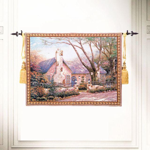 Gratis verzending 100x138 cm thuis wanddecoratie Florida Cottage ...