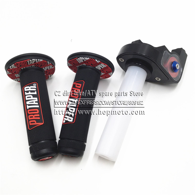 Moto con 1/4 Quick Turn Throttle Dirt Pit Bike Motocross 7/8 - Accessori e parti per motocicli