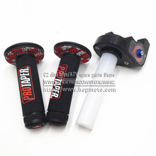 "Motorcycle with 1/4 Quick Turn Throttle Dirt Pit Bike Motocross 7/8"" Handlebar For PROTAPER Hand Grips For PRO TAPER KTM"