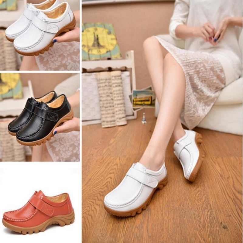 Taomengsi MF-168 Scarpe Invernali Piatto Più Il Velluto di Cotone Bianco Infermiere scarpe Calde Morbida Mamma Arancione Stivali size 35-41