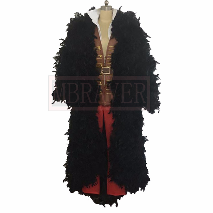 One Piece FILM Z Vinsmoke Sanji Cosplay Costume Custom Made Any Size