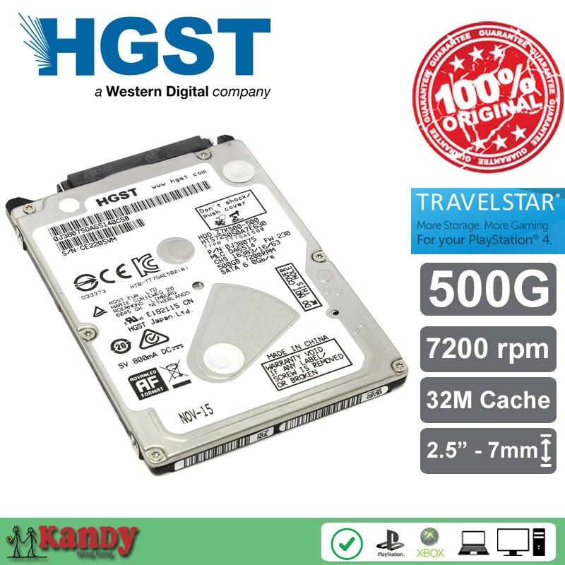 HGST Travelstar 500G hdd 2.5 HTS725050A7E630 SATA 3 laptop internal sabit hard disk drive interno hd notebook harddisk disque hgst travelstar z5k500 hts545050a7e380 500gb 5400 rpm 8mb cache sata 3 0gb s 2 5 internal notebook hard drive bare drive