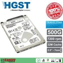 HGST Travelstar 500GB hdd 2.5 SATA 7200rpm disco duro laptop internal sabit hard disk drive interno hd notebook harddisk 7mm