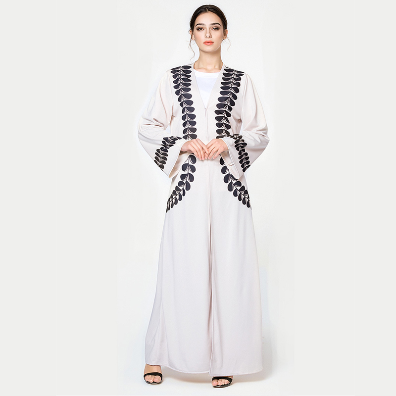 Abaya Dubai Kaftan Islam Long Jilbab Kimono Cardigan Muslim Hijab Dress Abayas For Women Elbise Mubarak Turkish Islamic Clothing