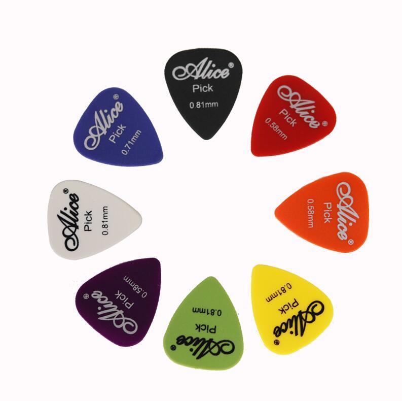 50Pcs Set Electric Guitar Pick Acoustic Music Picks Plectrum 0 58 0 71 0 81 0