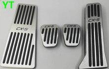 Auto footrest and gas accelerator pedal,brake pedal for Mazda cx 5 CX-5 2012-2018, auto accessories