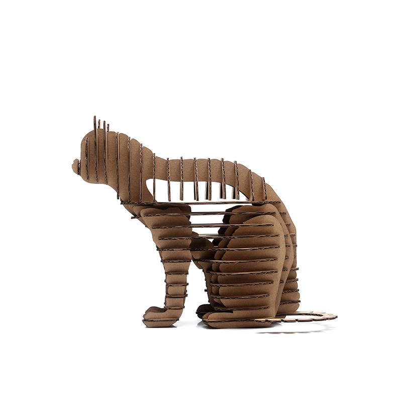 Online buy wholesale cat toy crafts from china cat toy for Cardboard halloween decorations diy