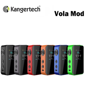 2020 Kanger Vola 100W Box MOD Kit 2000mah Battery 1.3-inch TFT display Electronic Cigarette Vape Fits Vola Tank Atomizer electronic cigarette jsld 80w kit vape built in 2000mah battery box mod large smoke steam vape kit vs txw 80w vape e cigarette