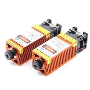 Image 3 - Oxlasers yeni 12V 2.5W 3.5W 4W 5.5W 15W 450nm mavi lazer modülleri turuncu renkli DIY gravür lazer kafası PWM