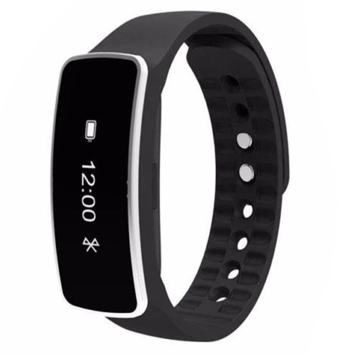Practical Smart Wrist Band Bracelet Watch Sleep Sports Fitness Activity Tracker Pedometer Colour Black