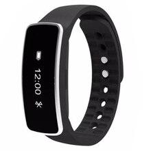 Практичный-Смарт-наручные часы-браслет сна спортивные Фитнес Трекер Активности Шагомер Цвет: черный