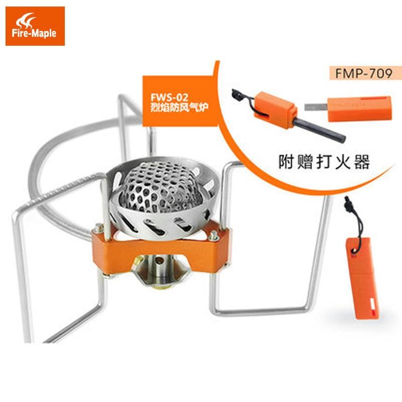 ФОТО Fire Maple FWS-02 Roaring Flame Ultra light Split Gas Stove Furnace