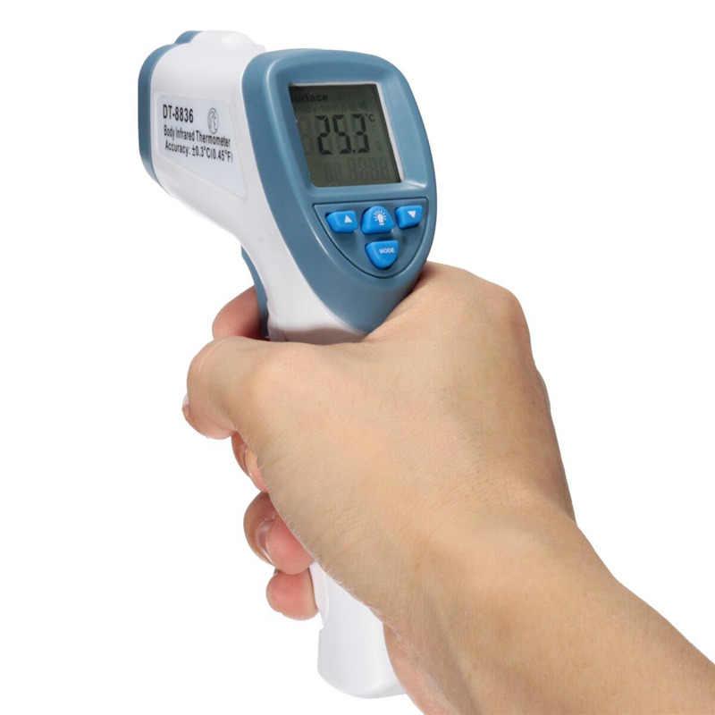赤外線赤ちゃん子供デジタルlcd温度計非接触ハンディボディ表面温度